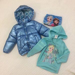 Frozen Disney girls clothing set